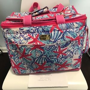 Like New Lilly Pulitzer She She Shells Cooler Bag